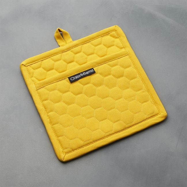 Yellow Pot Holder - Reg $16.95 Sale $7.50
