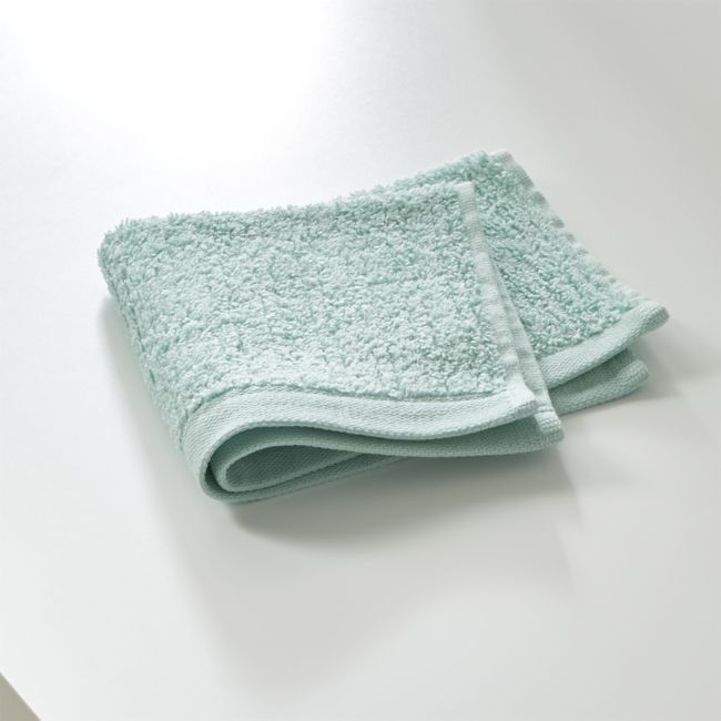 Ribbed Seafoam Washcloth - Reg $9.95 Sale $3.50