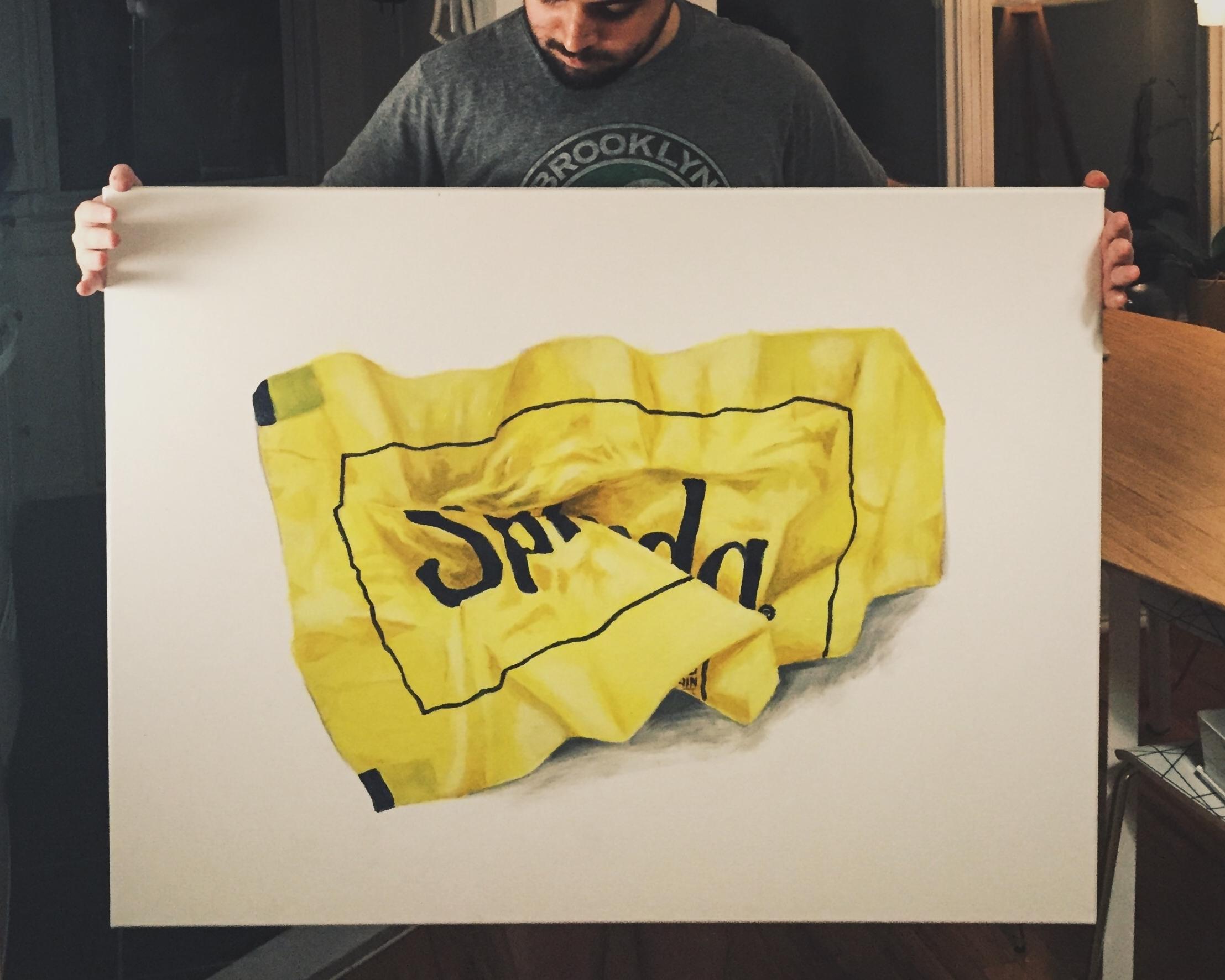 """Splenda"" Acrylic on canvas 30""x40"""