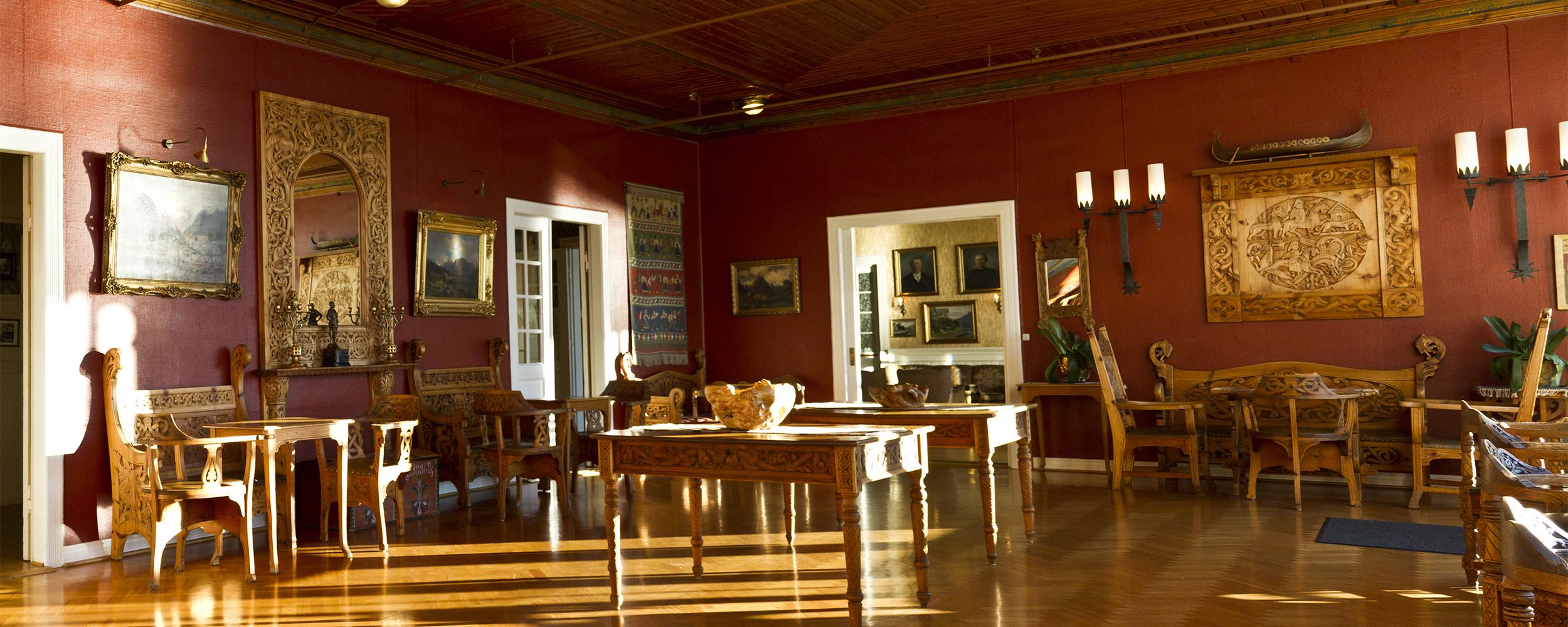 Kunstnarar i Balestrand - Kviknes Hotel