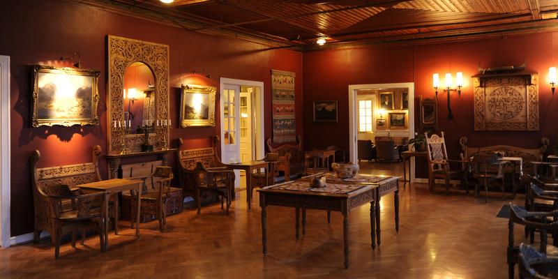 Kunsten og Høyvik-salen er ein viktig del av opphaldet ved Kviknes.