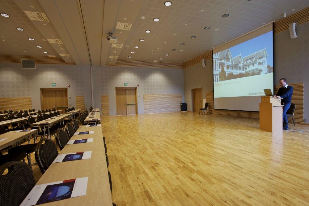 Topp moderne kurs & konferanseavdeling bygd i 2007.