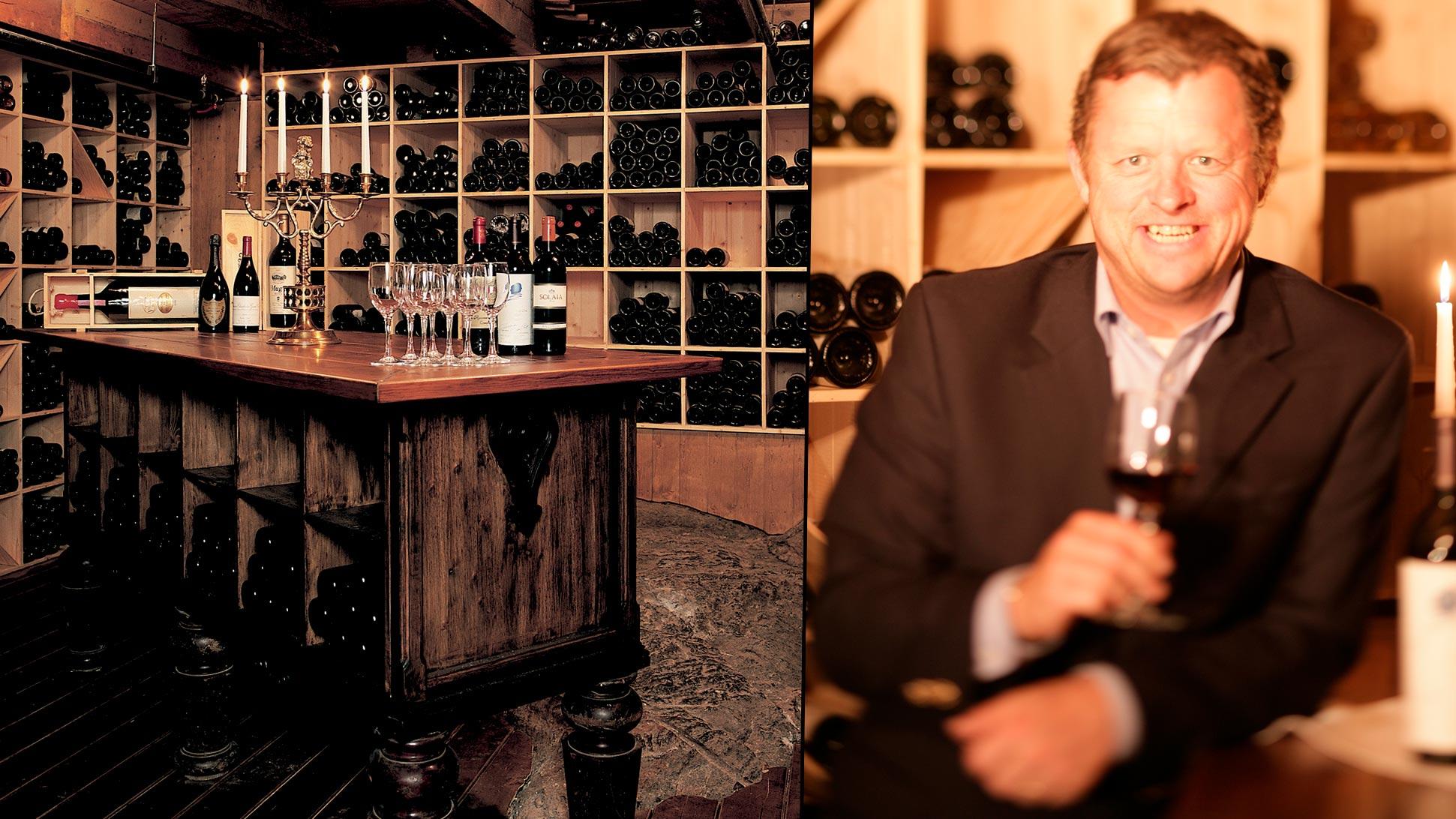 Sigurd Kvikne har blitt lideskapeleg oppteken av vin.
