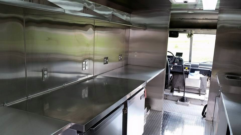 Stainless steel counters and tables