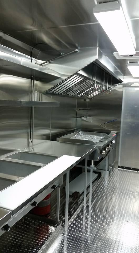 Kitchen equipment installation