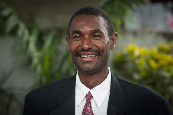 Pastor Jean Baptiste Negriel and his wife Jesula Medor have 8 children and serve in Bedard, Haiti.