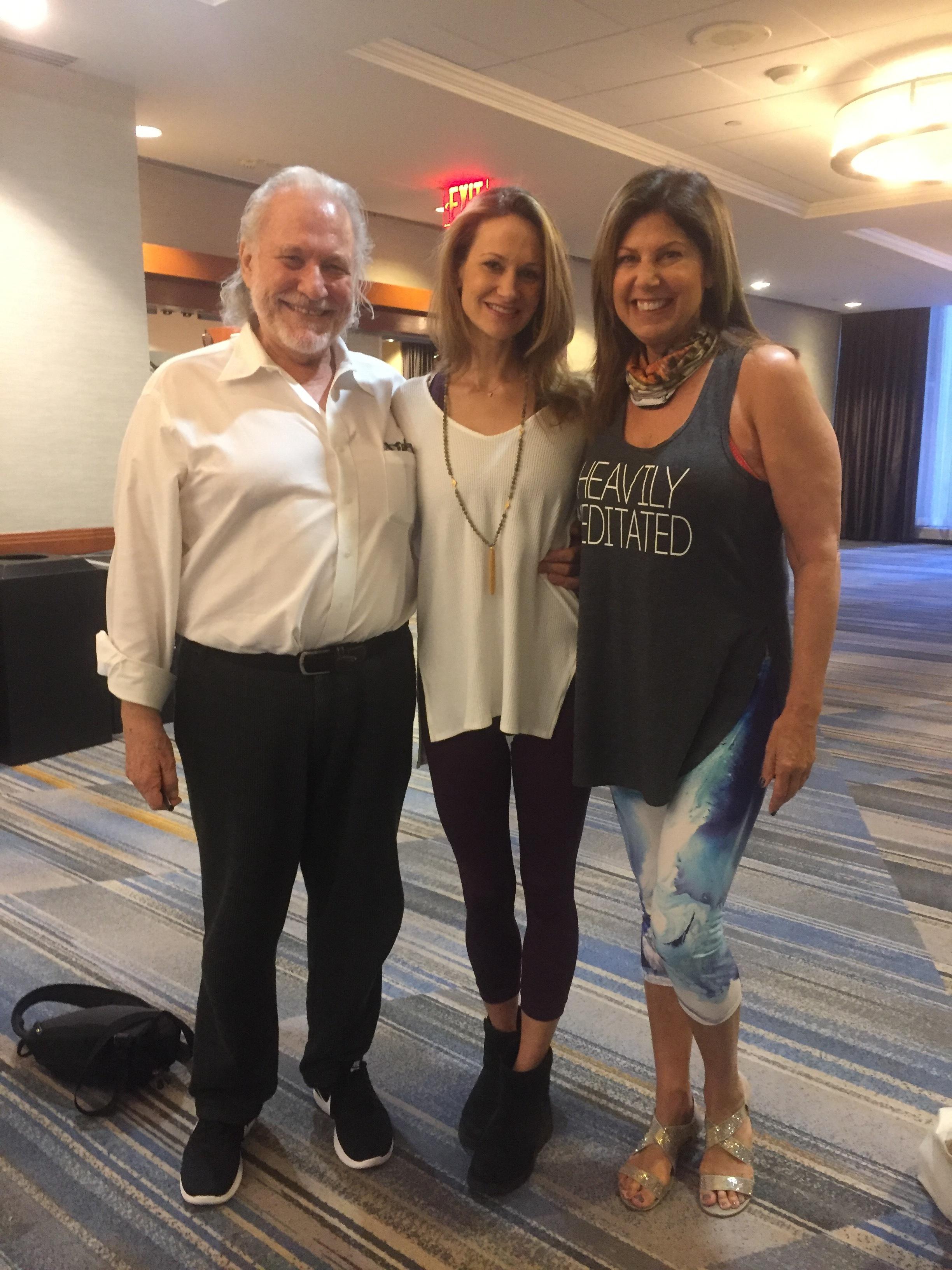 Sarah and Alan Finger, ISHTA Yoga, NYC
