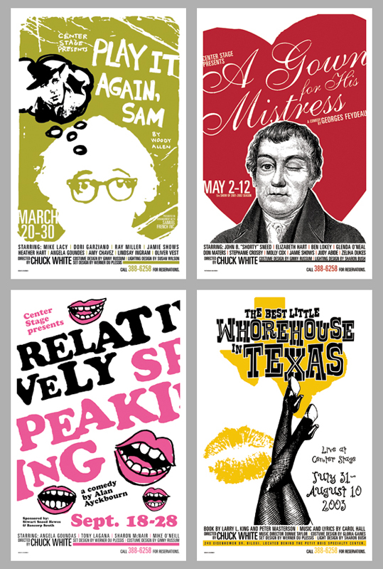 CENTER STAGE PROGRAM COVERS