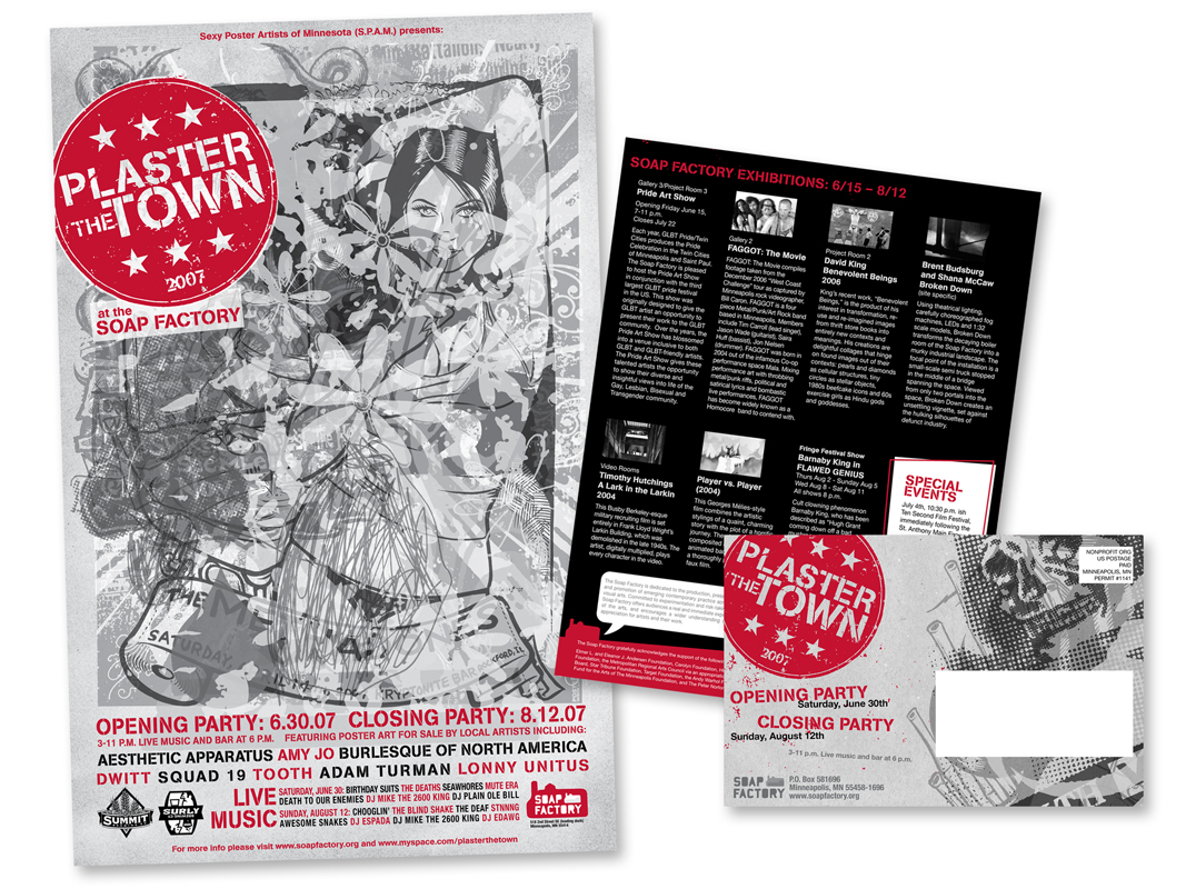 PLASTER THE TOWN BROCHURE