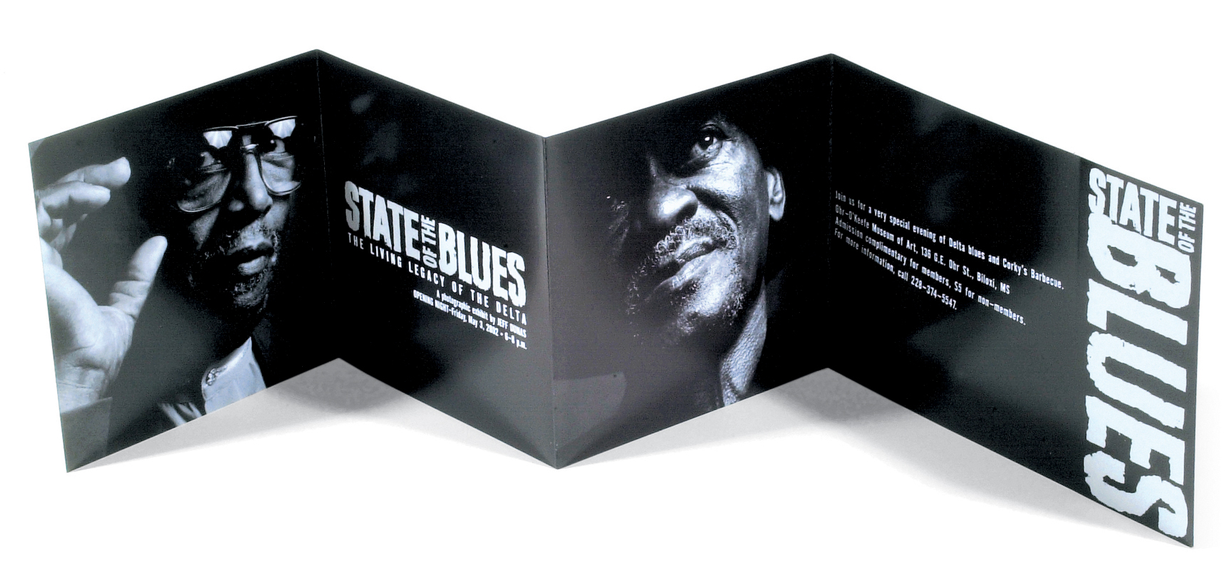 STATE OF THE BLUES INVITATION