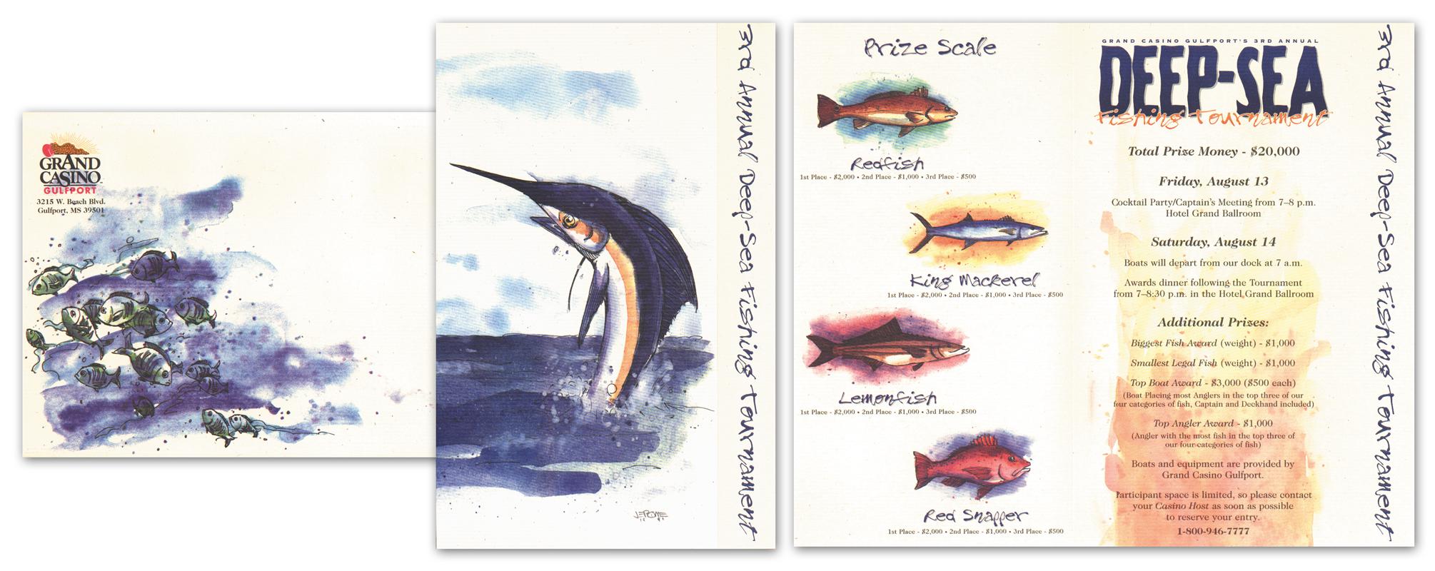 3RD ANNUAL DEEP-SEA FISHING INVITE