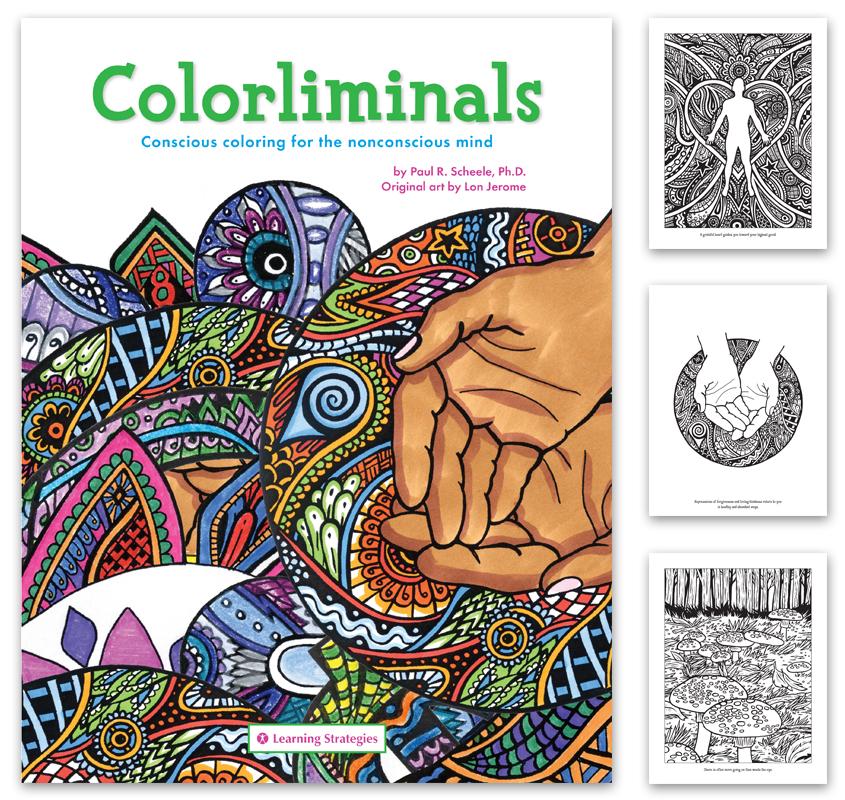 COLORLIMINALS COLORING BOOK
