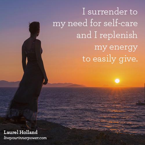 surrender-self-care