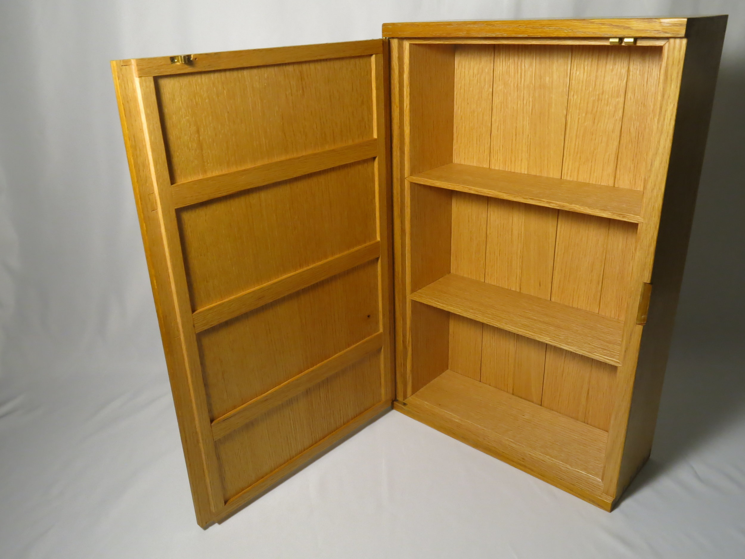 2017 Wall Cabinets (Red oak and Beech)