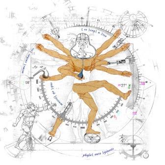 """étude des 10-proportions de l'esprit humain . . (v² ! g)"" by Jef Safi. Via  Flickr"