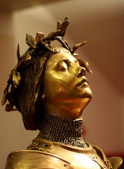 """Joan of Arc, light alteration"" by Anne Petersen (2008). Via  Flickr ."