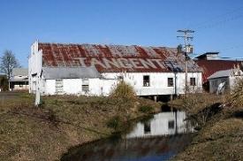 """tangent mill"" - Bruce Fingerhood. Via  Flickr . License:  CC BY 2.0 ."