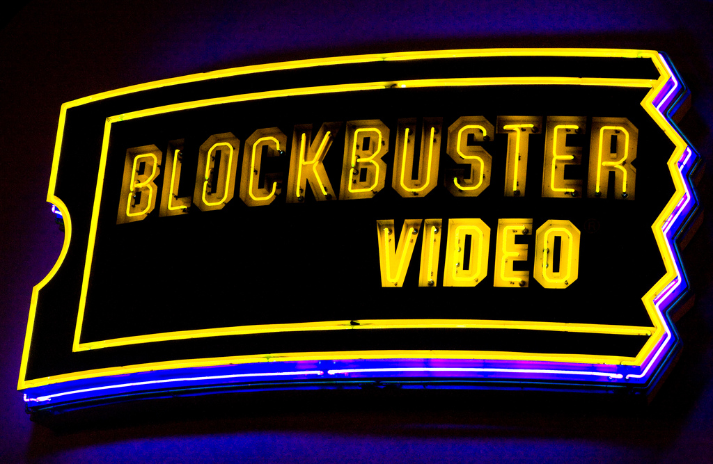 """Blockbuster Video"" - Thomas Hawk. Via  Flickr . License:  CC BY-NC 2.0"