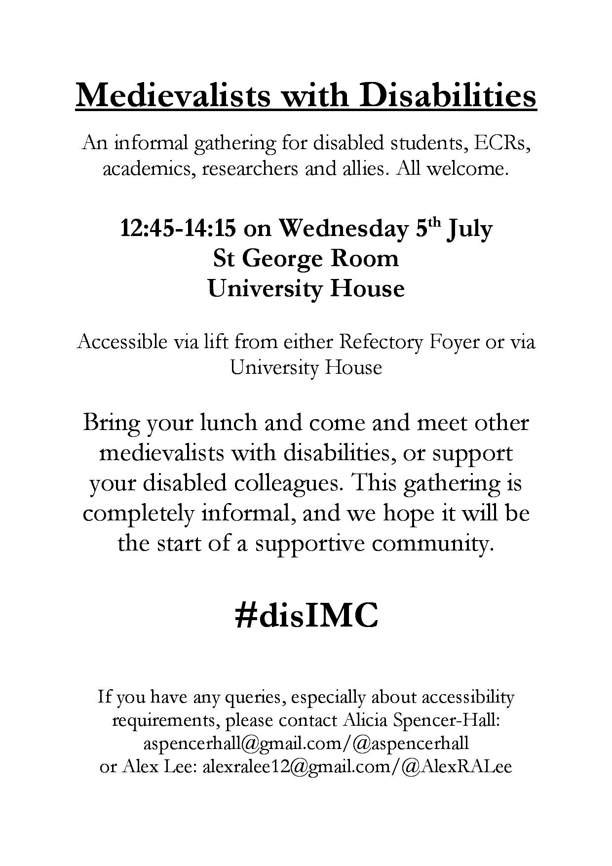 Please feel free to share this #disIMC poster!