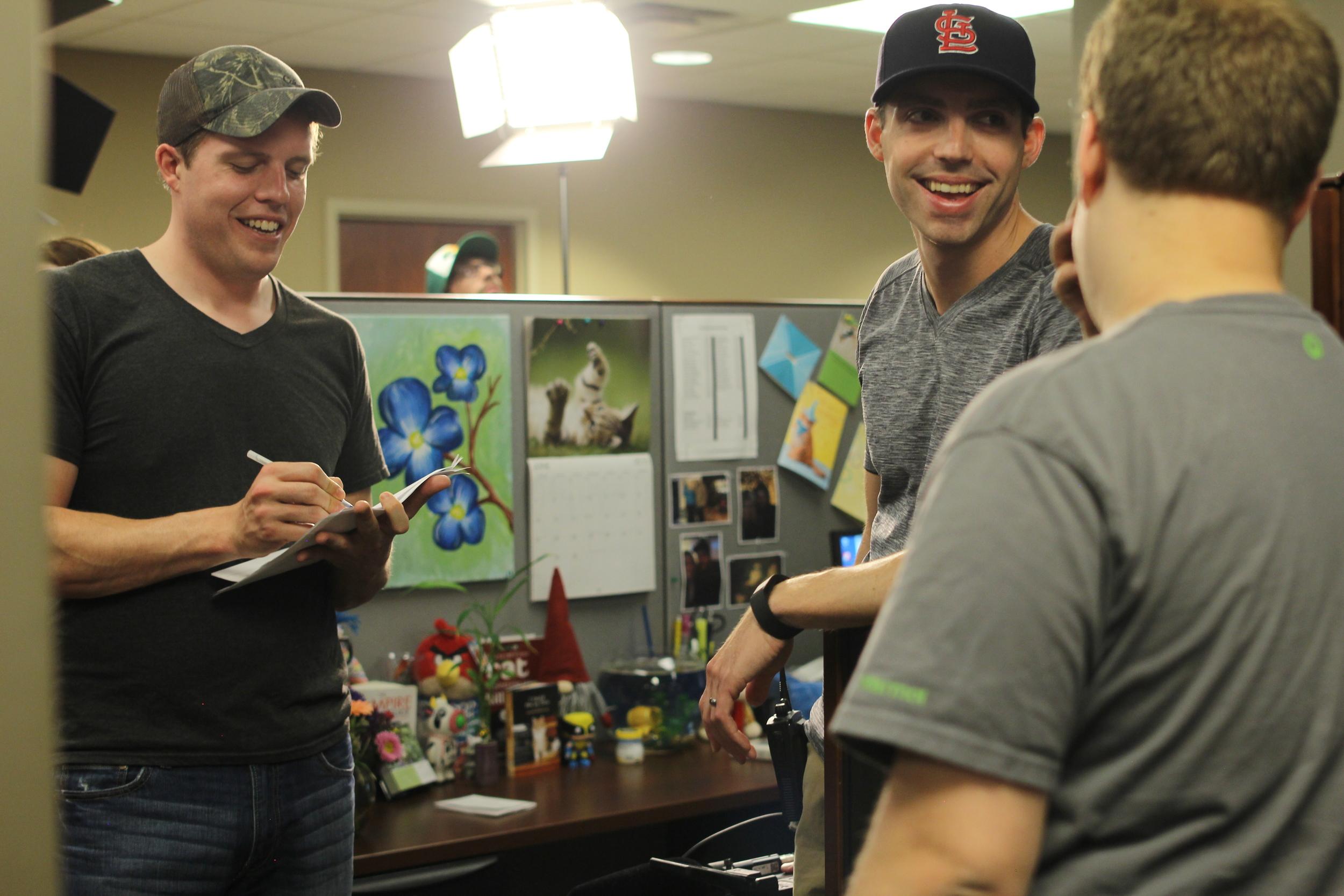 Luke McGowan (AD) & Mike Rohlfing (DP/Producer)
