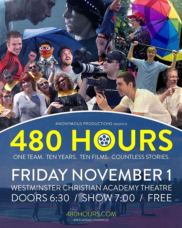 I made a movie about making movies. If you're in Saint Louis, come see it! Watch the first 3 minutes at 480hours.com