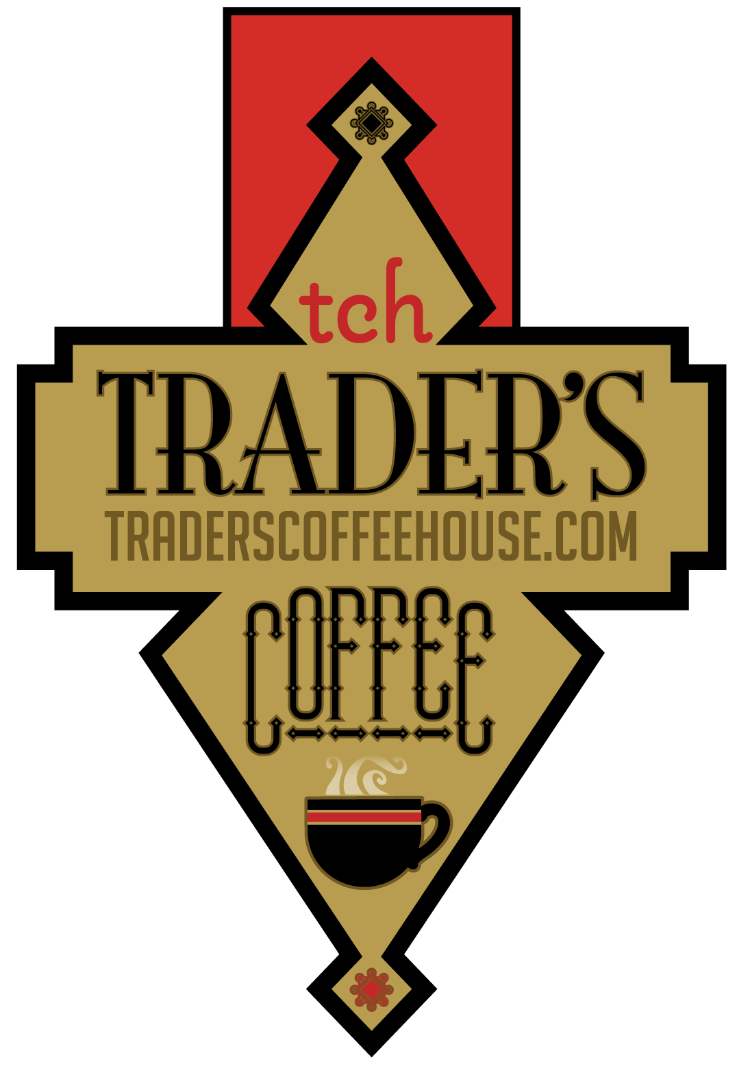 This shows where the TRADER'S COFFEE is located!