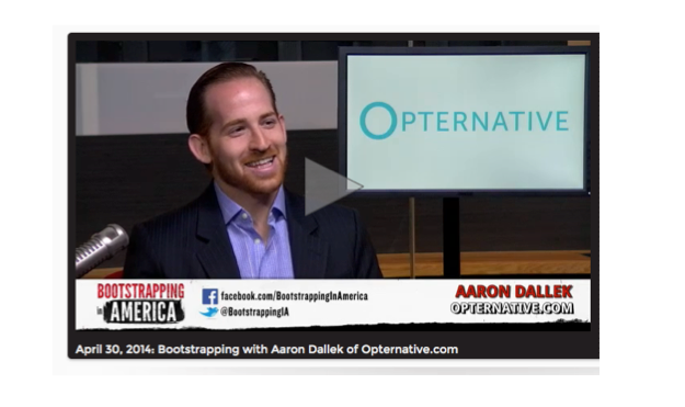 Bootstrapping with Aaron Dallek Opternative