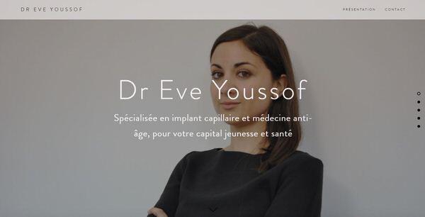 Création du site Web du docteur Eve Youssof