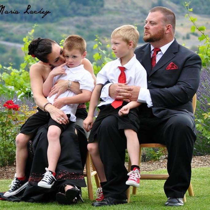 Wedding Chris Scott and Paula Lamanna- Scott