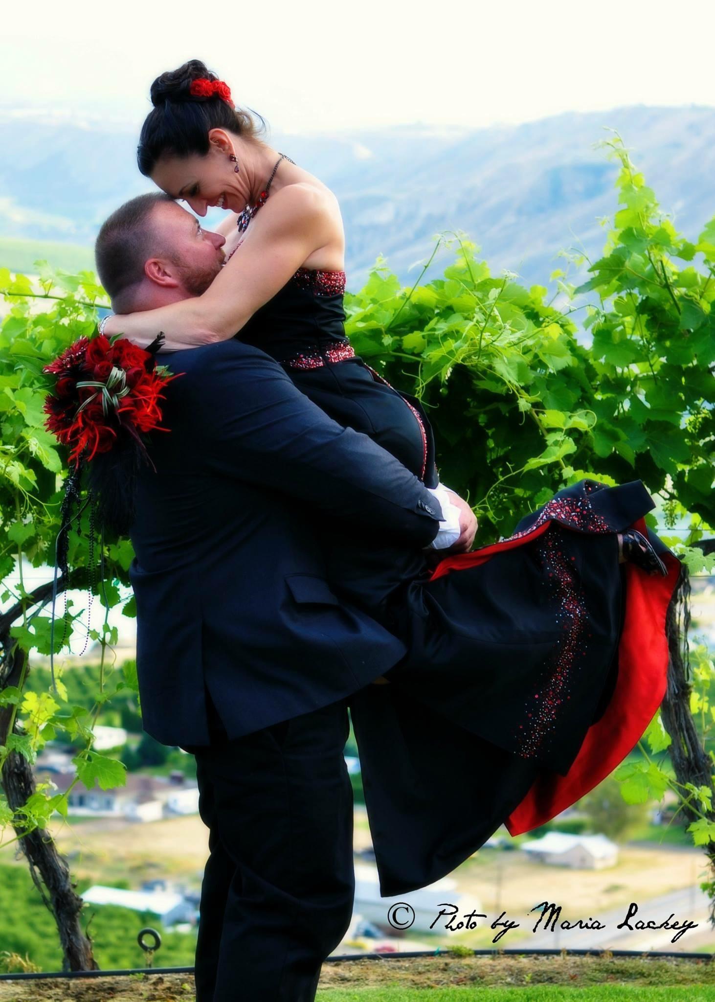 Wedding: Chris Scott with Paula Lamanna-Scott