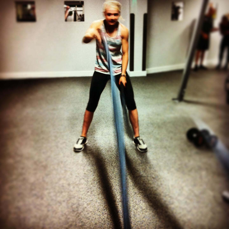Female Battle Rope