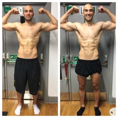 Mens Body Transformation