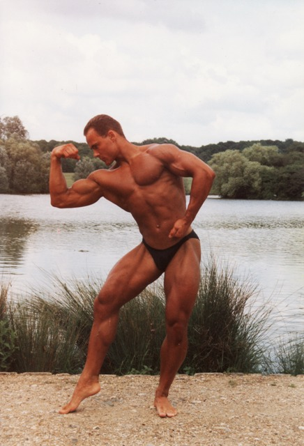 The day before I won the ANB South East Junior Championships at 19 years of age 1992.