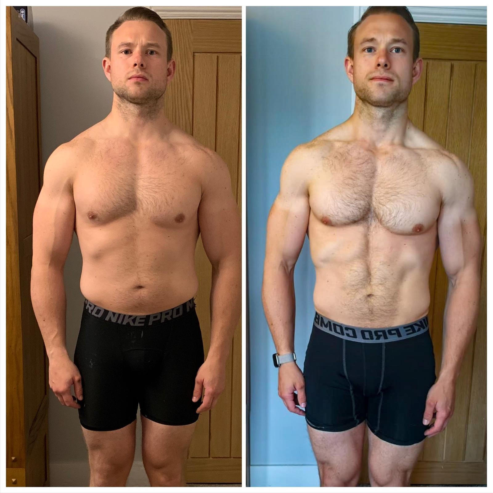 Chris Stanley - Week 1 to week 8!
