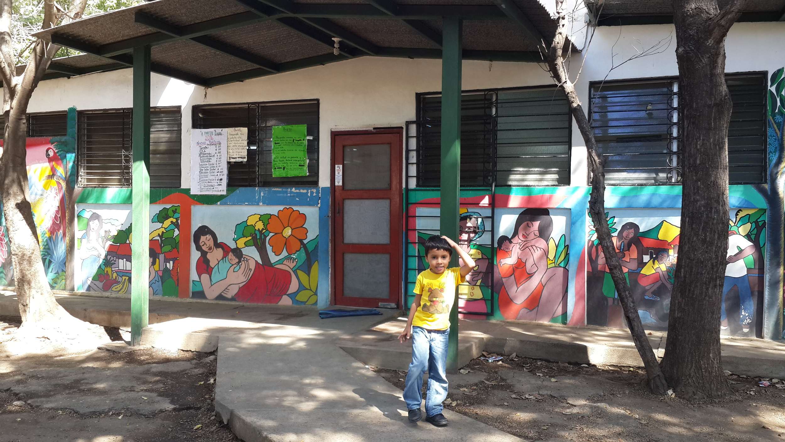 Local Nicaraguan child needing dental care