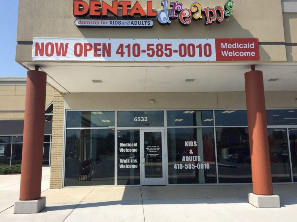 Photo of Dental Dreams on Reisterstown Road in Baltimore, MD 21215