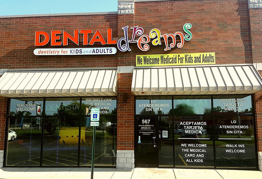 Dental Dreams Office Exterior