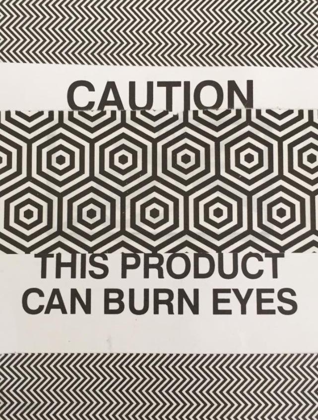 can burn eyes