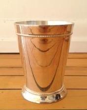 Silver Mint Julep Vases