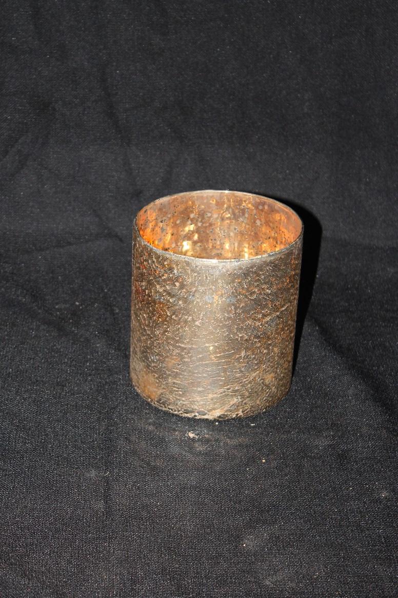 Large Mercury Glass Vase