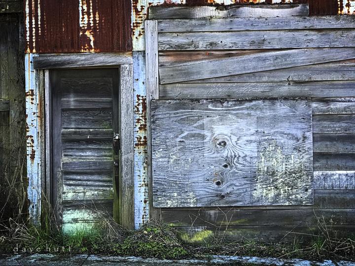 Old boathouse in Cathlamet, Washington.  2018