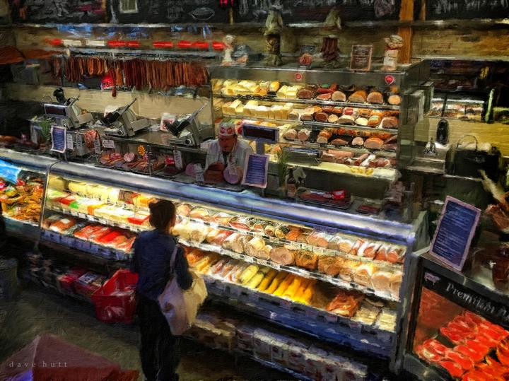 Market and Delicatessen, Chicago  2016