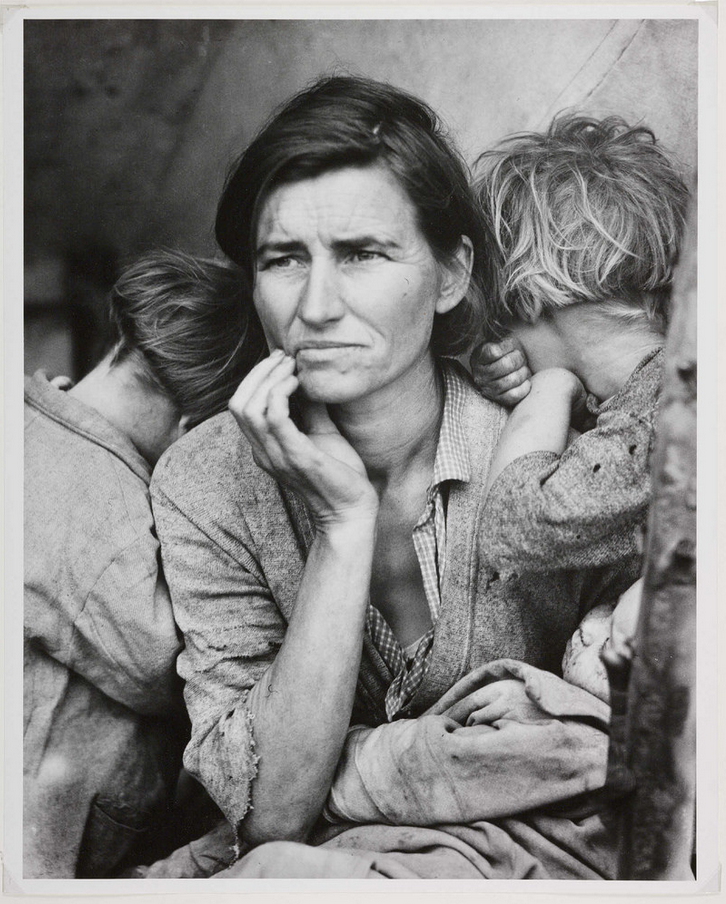 Migrant Madonna (Dorothea Lange, 1936)