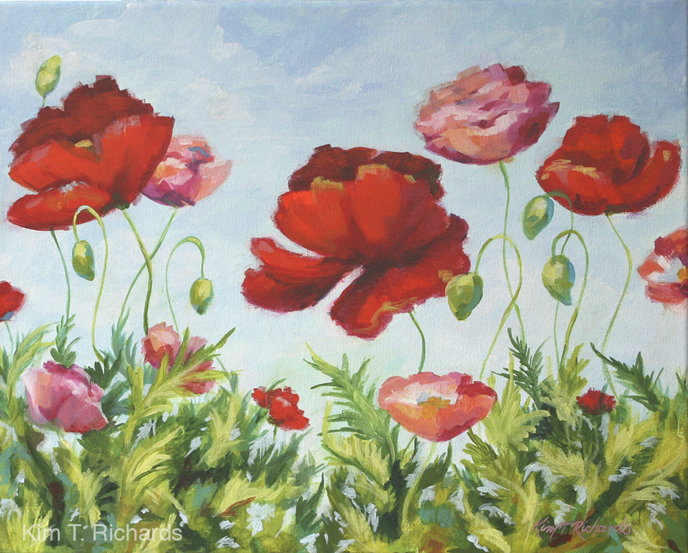 """Daydream 20x16"""" Acrylic on canvas. Available $400"""