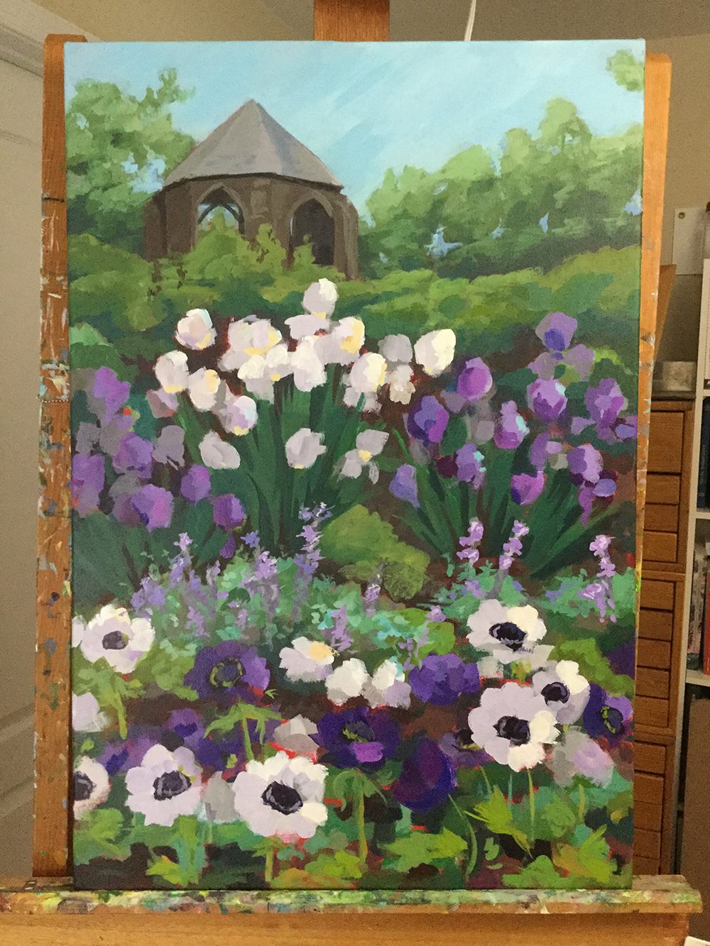 final painting stages