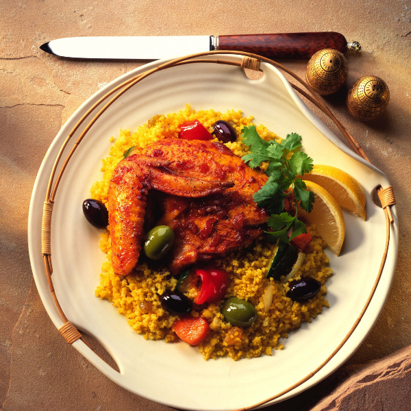 how to make vegetables taste good North African