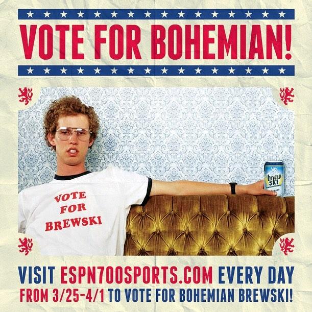 Vote for #BrewSki ! Espn700.com #drinklocal #utahbeer #realbeer #noglitter