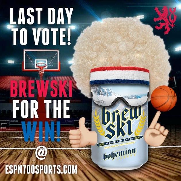 Last day to vote.... @espn700 beer bracket challenge #bohemianbrewery #brewski #forthewin