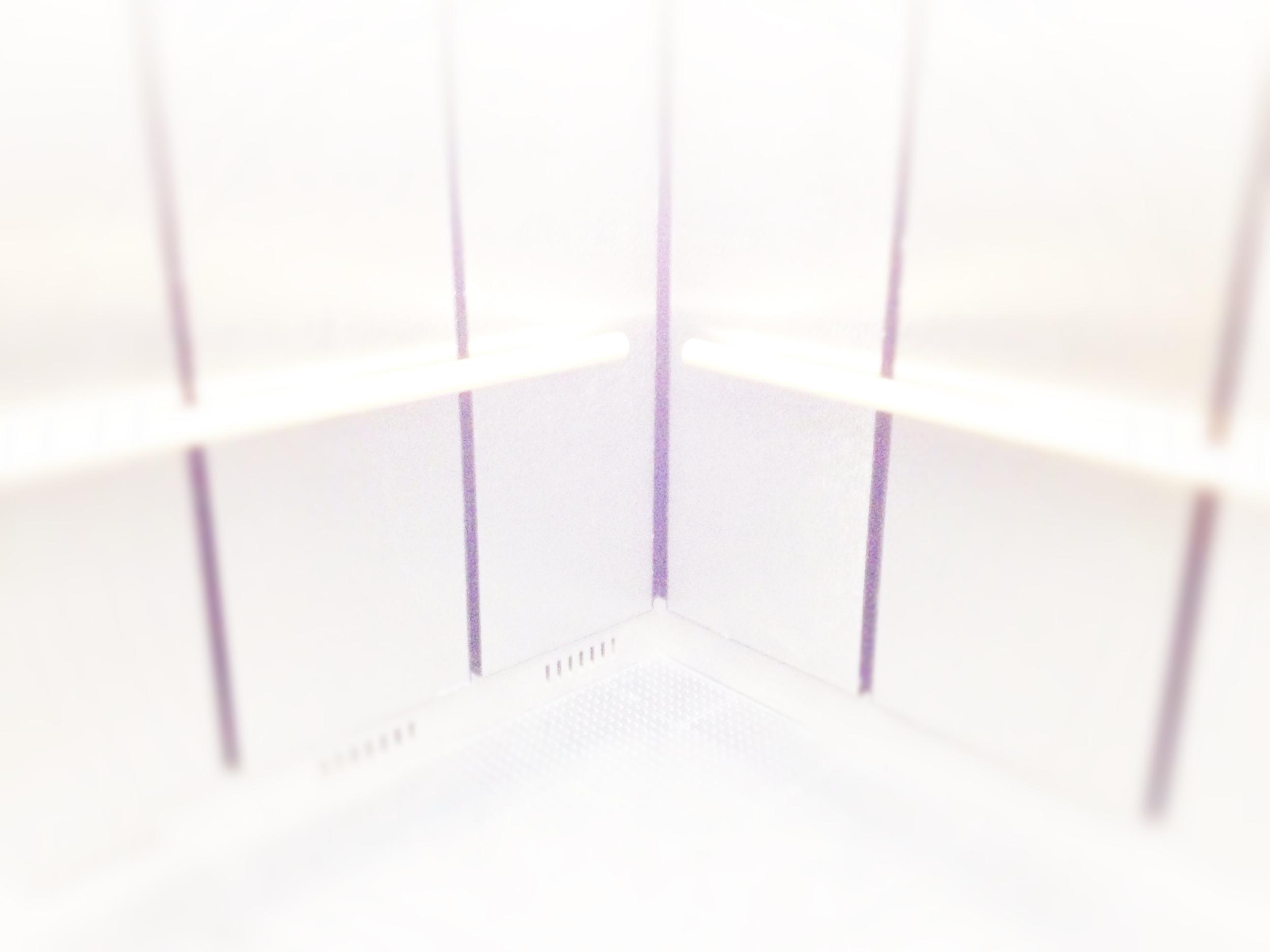 Light Tunnels: Chelsea Gallery Elevator, NY, 2014-15