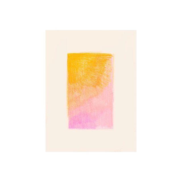 Gradient Color Block // colored pencil on paper